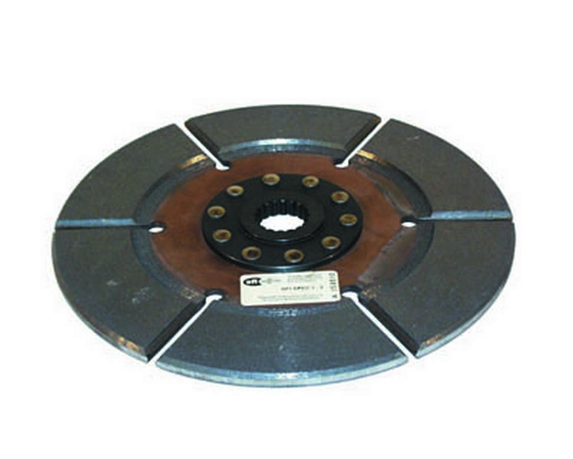 Ram Clutch 1358 Clutch Disc, Sportsman, 10-1/2 in Diameter, 1-3/16 in x 18 Spline, Rigid Hub, Sintered Iron, Universal, Each