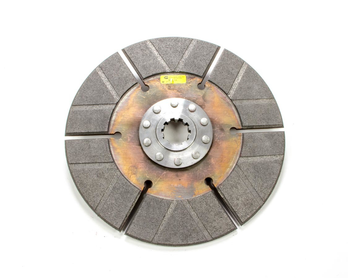 Ram Clutch 1361 Clutch Disc, Sportsman, 10-1/2 in Diameter, 1-3/8 in x 10 Spline, Rigid Hub, Sintered Iron, Universal, Each