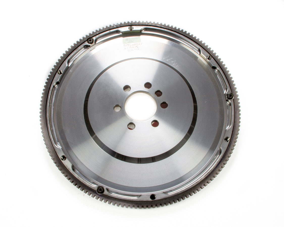 Ram Clutch 1512-12 Flywheel, True Balance, 153 Tooth, 12 lb, SFI 1.1, Steel, External Balance, 1 Piece Seal, Chevy V8, Each