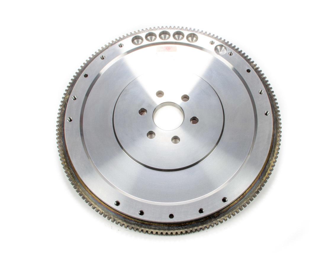 Ram Clutch 1527 Flywheel, True Balance, 157 Tooth, 24 lb, SFI 1.1, Steel, 28 oz External Balance, Small Block Ford, Each