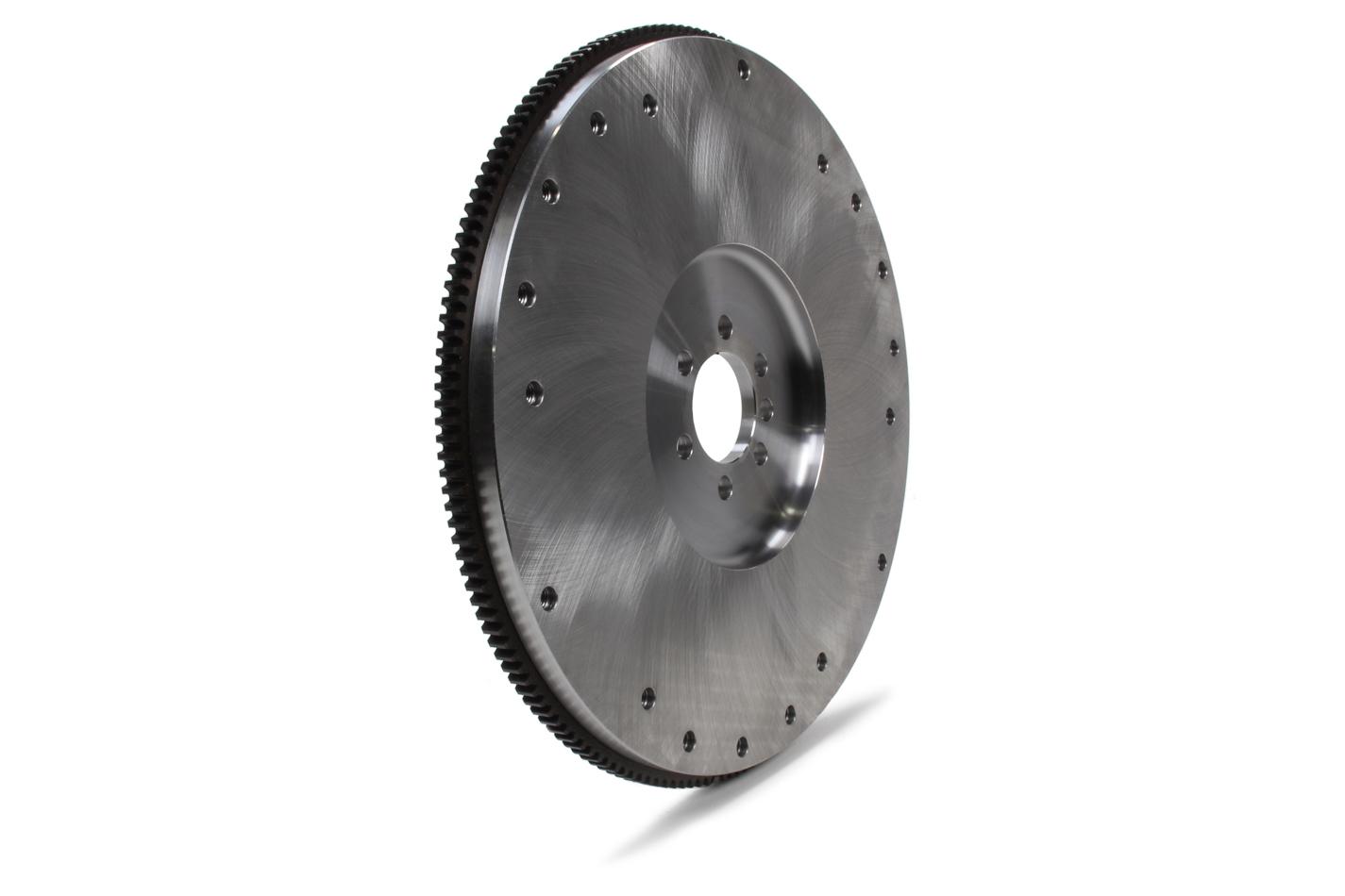 Ram Clutch 1530LW Flywheel, 168 Tooth, 25 lb, SFI 1.1, Steel, Natural, External Balance, Small Block Chevy / GM V6, Each