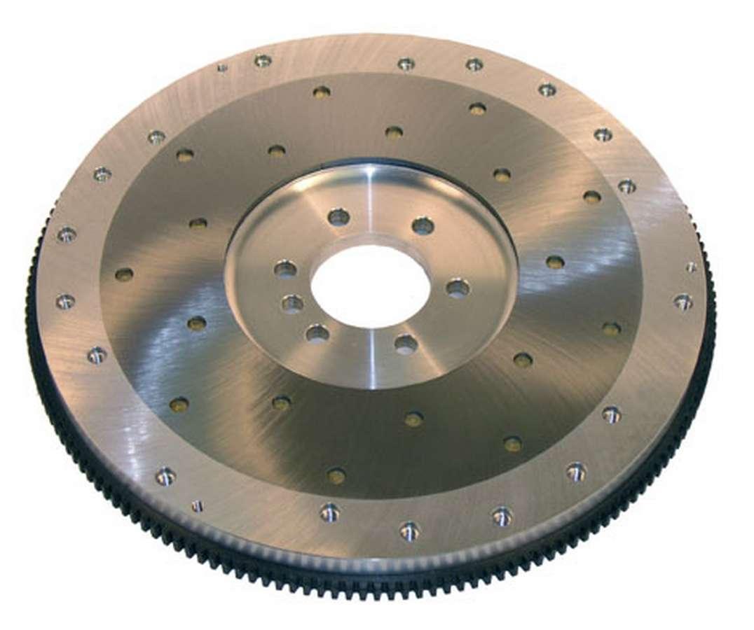 Ram Clutch 2501 Flywheel, True Balance, 168 Tooth, 18 lb, SFI 1.1, Replaceable Surface, Aluminum, Internal Balance, Chevy V8, Each