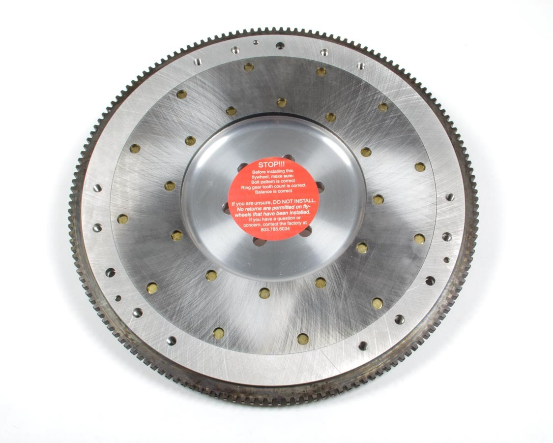 Ram Clutch 2529 Flywheel, 157 Tooth, 14 lb, SFI 1.1, Replaceable Surface, Aluminum, Internal Balance, Small Block Ford, Each