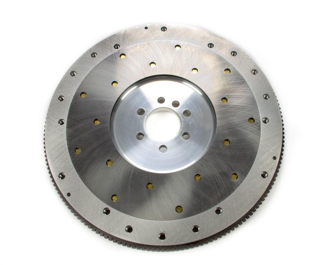 Ram Clutch 2530 Flywheel, True Balance, 168 Tooth, 18 lb, SFI 1.1, Replaceable Surface, Aluminum, External Balance, 1 Piece Seal, Small Block Chevy, Each