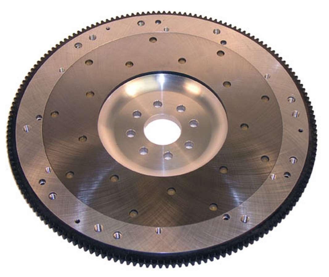 Ram Clutch 2545 Flywheel, True Balance, 164 Tooth, 14 lb, SFI 1.1, Replaceable Surface, Aluminum, Internal Balance, 8-Bolt Crank, Ford Modular, Each
