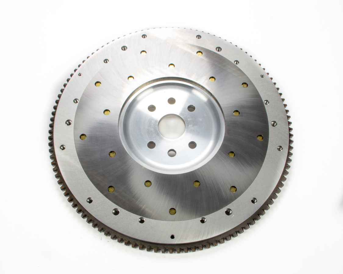 Ram Clutch 2549 Flywheel, True Balance, 112 Tooth, 14 lb, SFI 1.1, Replaceable Surface, Aluminum, Internal Balance, Ford Flathead 1949-53, Each
