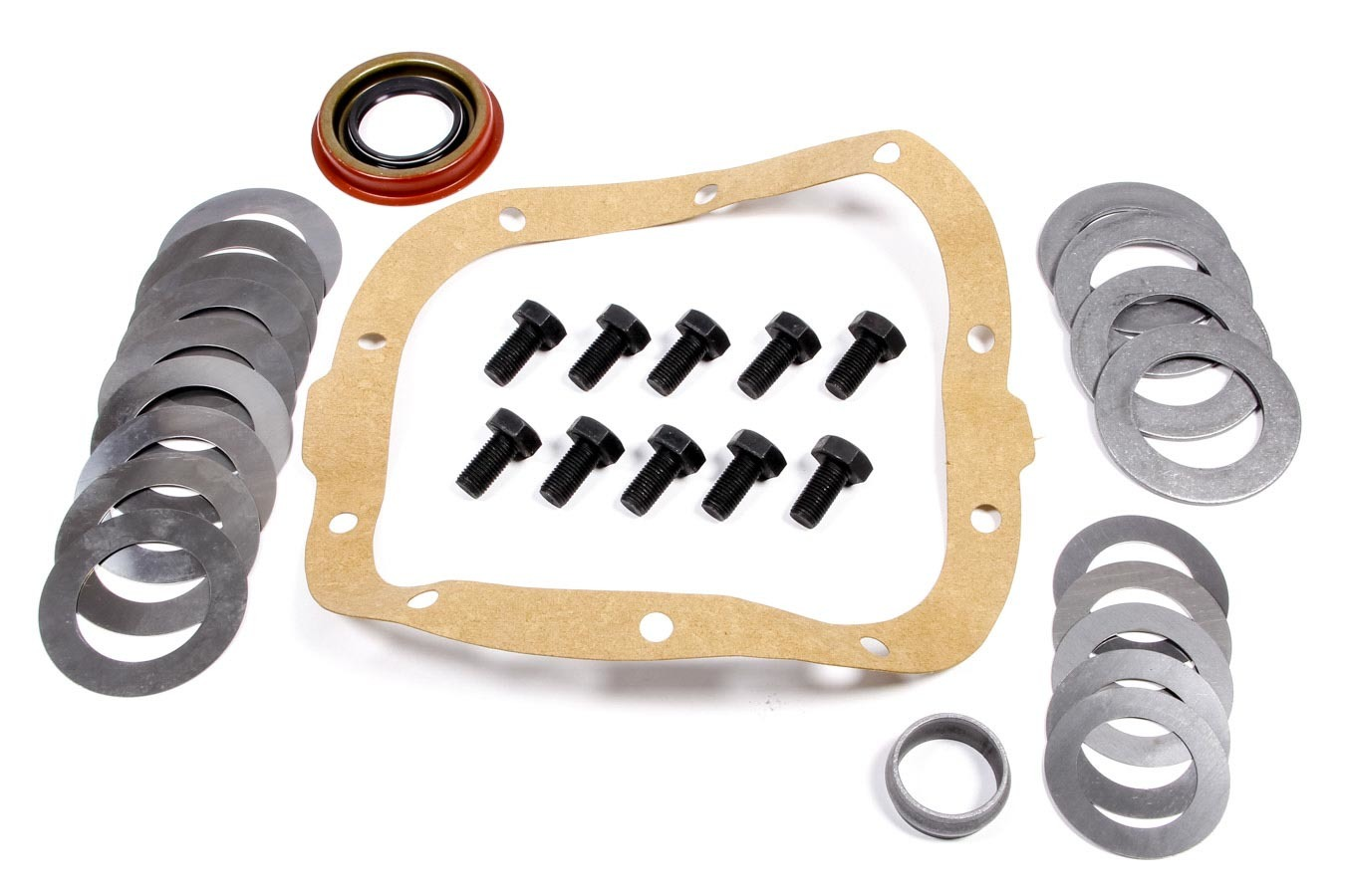 Ratech 108K Differential Installation Kit, Crush Sleeve / Gaskets / Hardware / Seals / Shims, 7.5 in / 7.625 in, GM 10-Bolt, Kit