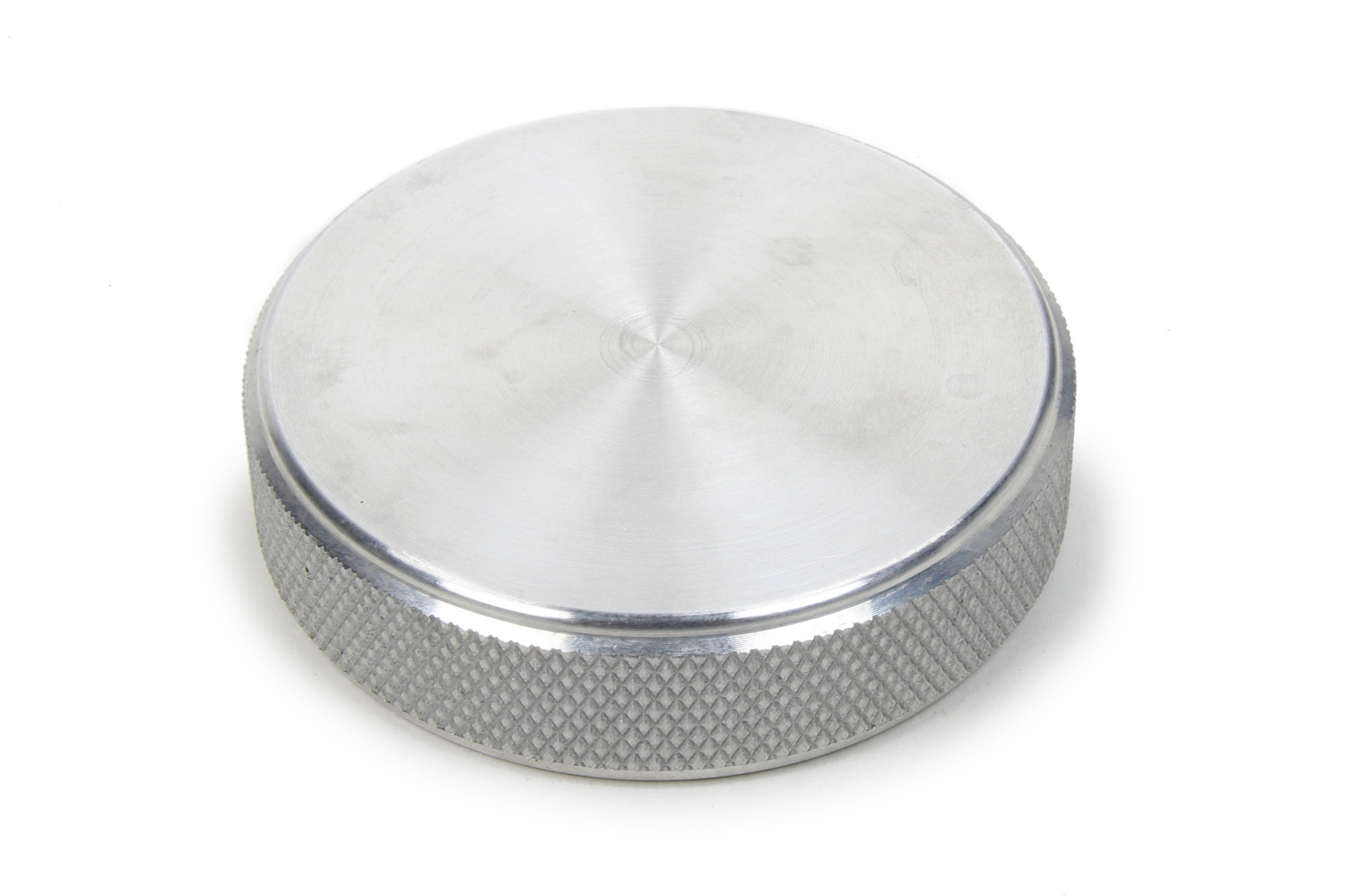 RCI 7032C Fuel Cell Filler Cap, Screw-On, 2-3/4 in OD, Billet Aluminum, Natural, RCI Oval Filler Plate, Each