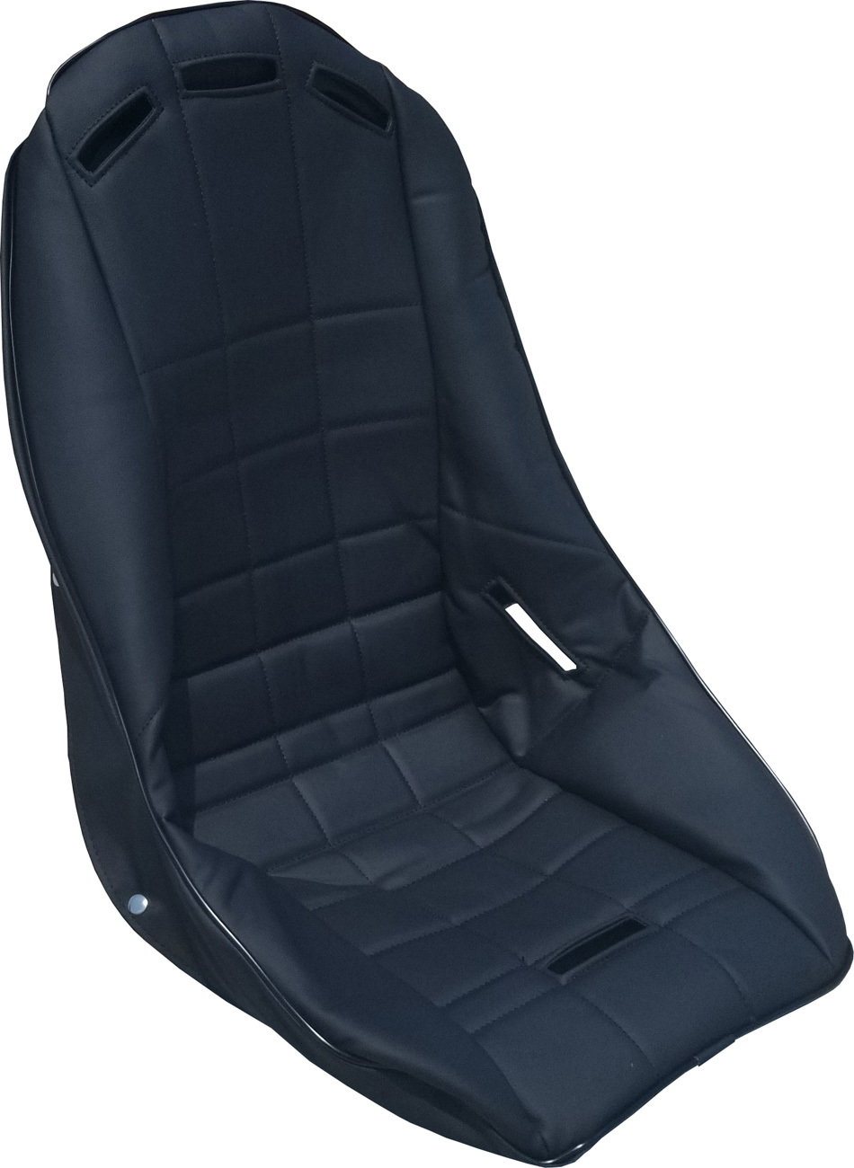 Seat Cover Poly Lo-Back Black