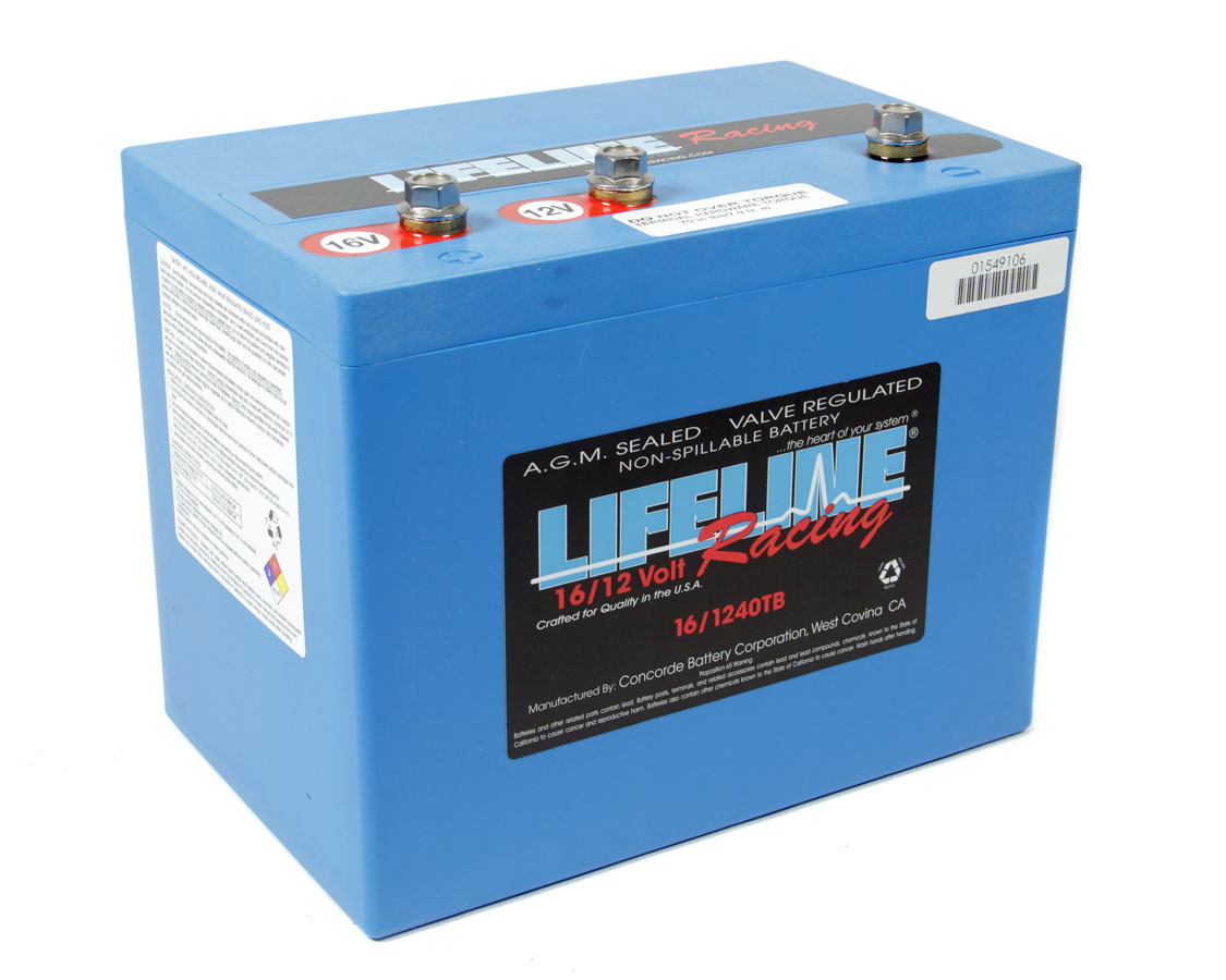 16 Volt 3 Post Battery