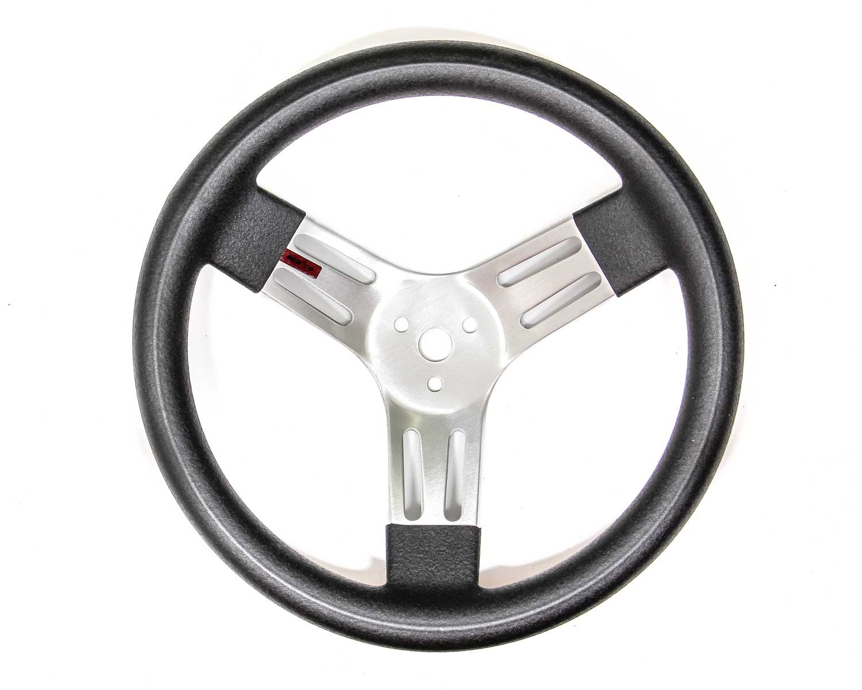 13in Black Alum Wheel Smooth