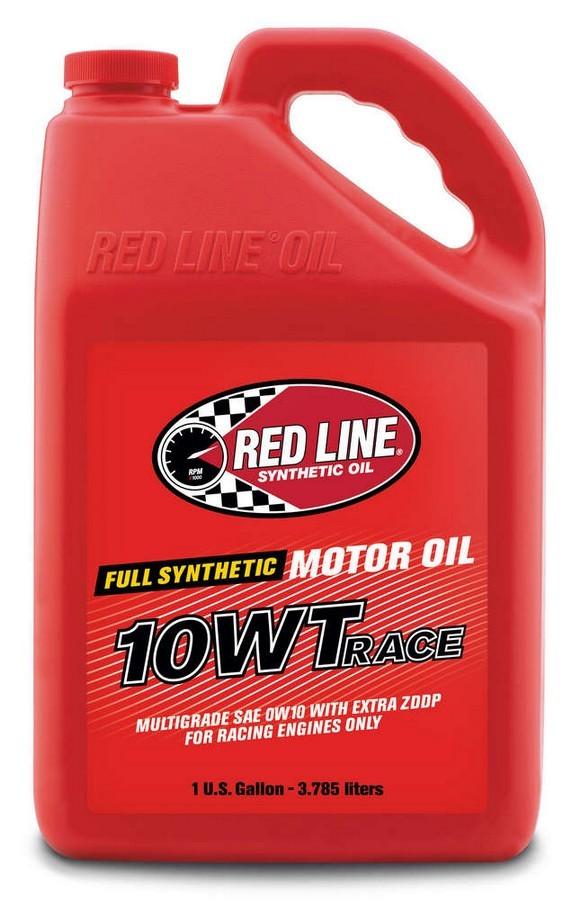 Redline Oil 10105 Motor Oil, 10WT Drag Race Oil, High Zinc, 10W, Synthetic, 1 gal Jug, Each