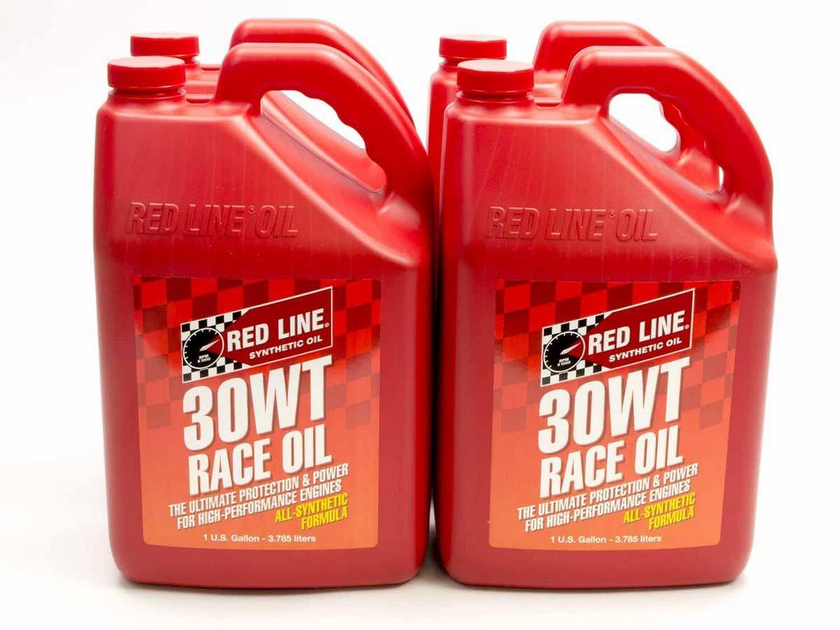 30WT Race Oil Case/4-Gal (10W30)