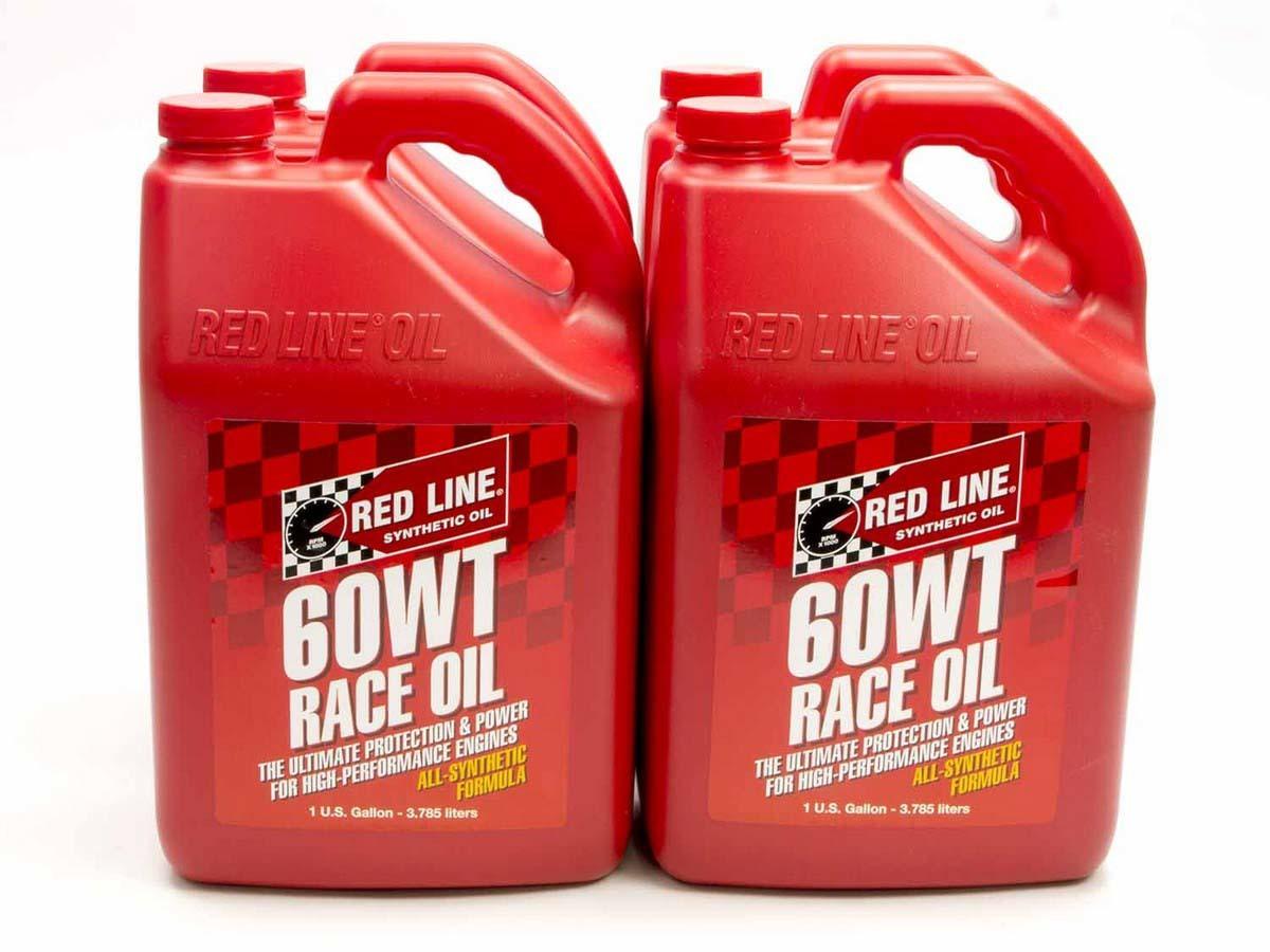 60WT Race Oil Case/4-Gal (20W60)