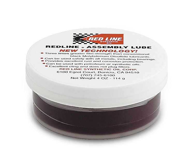 Redline Oil 80312 Assembly Lubricant, Synthetic, 4.00 oz Tub, Each