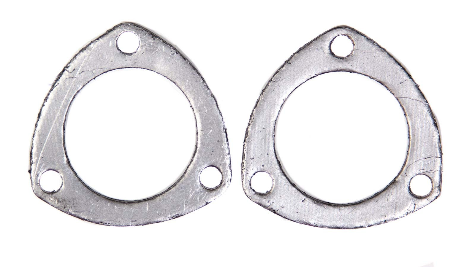 Remflex Exhaust Gaskets 8001 Collector Gasket, 2-1/2 in Diameter, 3-Bolt, Graphite, Pair
