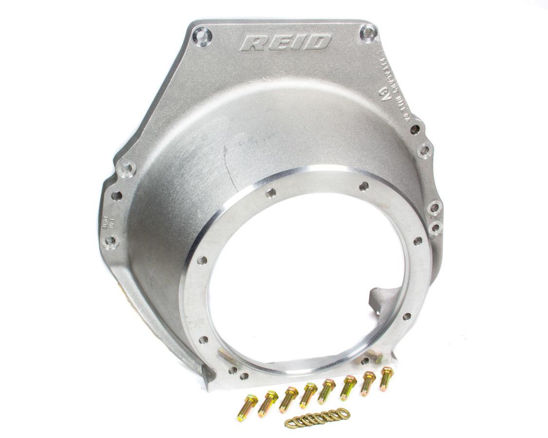 Reid Racing BH020 Bellhousing, SFI 30.1, Aluminum, Natural, Reid Superglide Case, Big Block Ford, Each