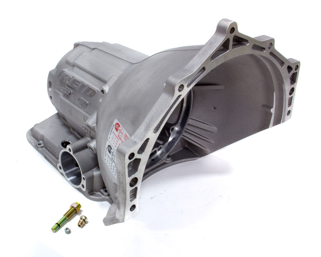 Reid Racing PG1500 Transmission Case, Superglide, SFI 4.1, 1 Piece, Aluminum, Natural, Powerglide, Each
