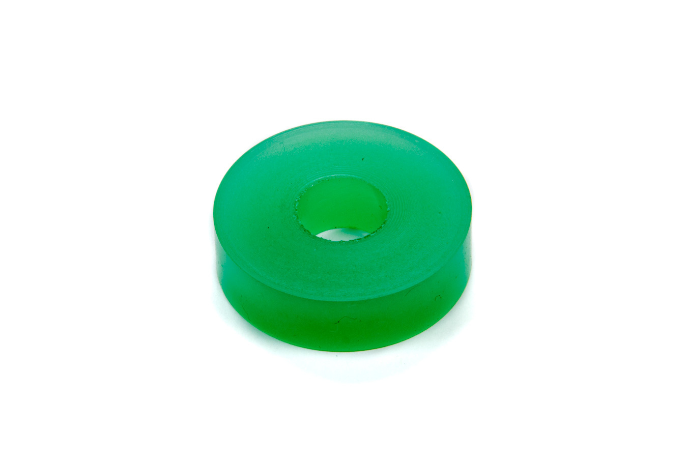 RE Suspension RE-BR-5153-170 Bump Stop Puck, Apollo, 1.875 in OD, 5/8 in ID, 1/2 in Tall, 70 Durometer, Rubber, Green, Each