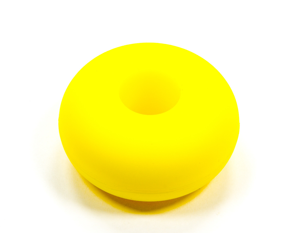 RE Suspension RE-BR-RSW-380 Bump Stop Puck, 2 in OD, 5/8 in ID, 1 in Tall, 80 Durometer, Polyurethane, Yellow, Each