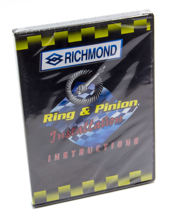 Richmond VIDEO DVD, Installation Video, Ring and Pinion Installation, Richmond Gear, Each