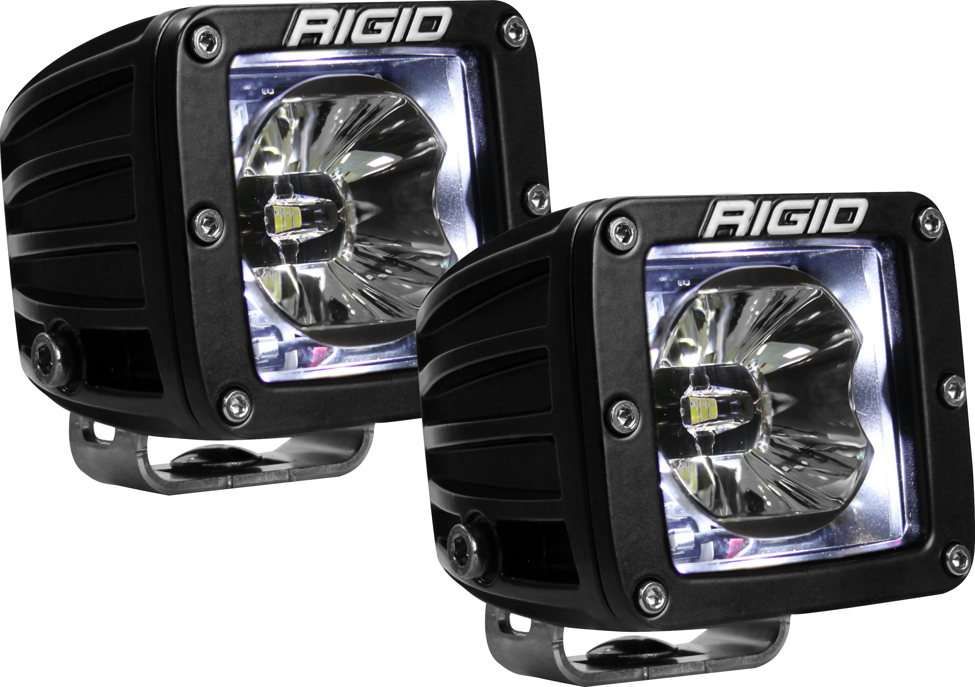 LED Light Pair Radiance Pod White Backlight