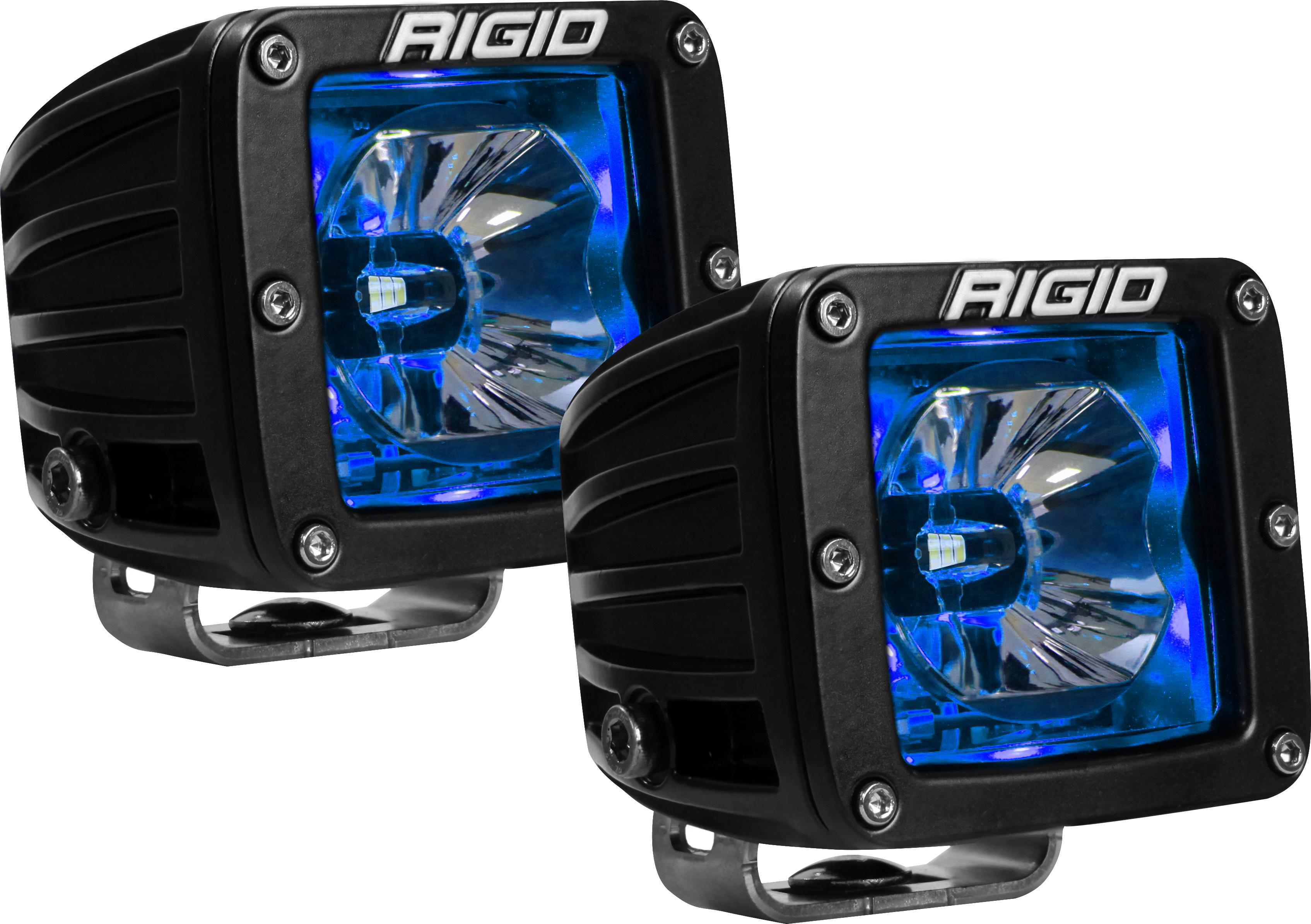 LED Light Pair Radiance Pod Blue Backlight