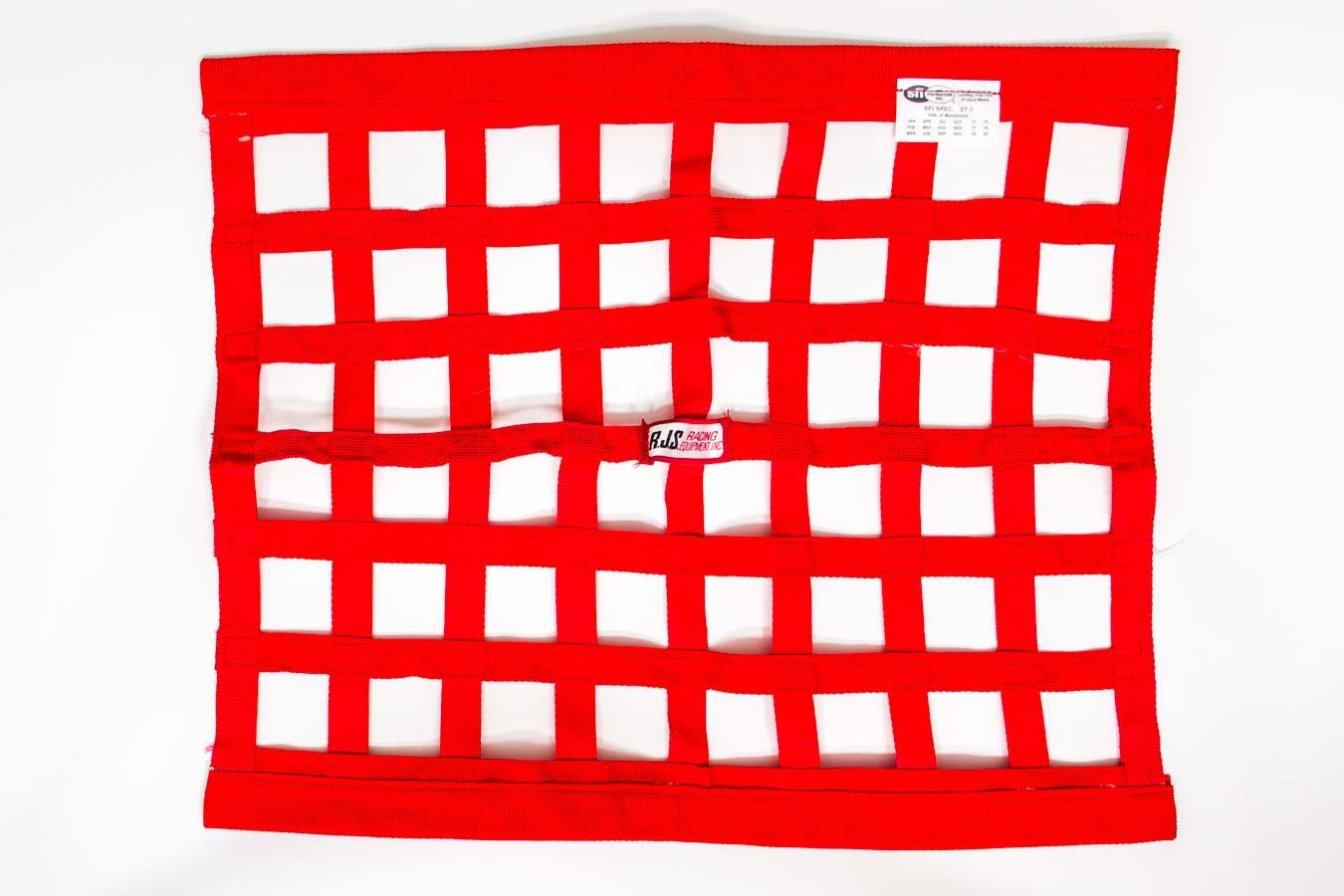 Red Ribbon Window Net 18x24