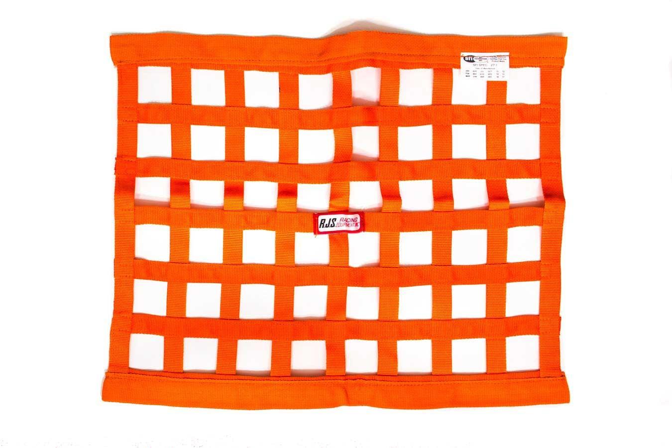 Orange Ribbon Window Net 18x24