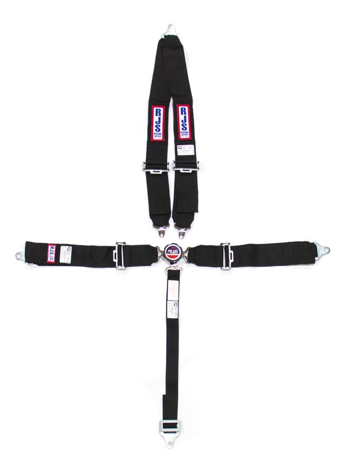 5 PT Harness System Q/R BK Roll Bar 2inSub