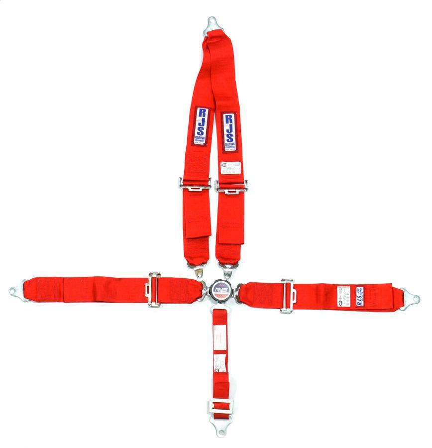 5 PT Harness System Q/R RD Roll Bar 2inSub