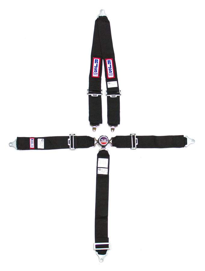 5 PT Harness System Q/R BK Roll Bar 3inSub