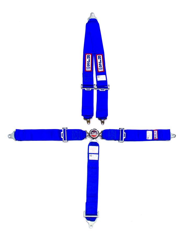 5 PT Harness System Q/R BL Roll Bar 3inSub