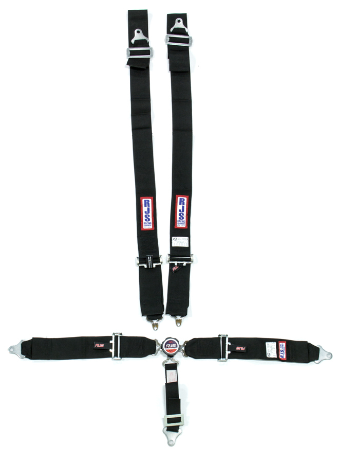 5 PT Harness System Q/R BK Ind Wrap 2inSub
