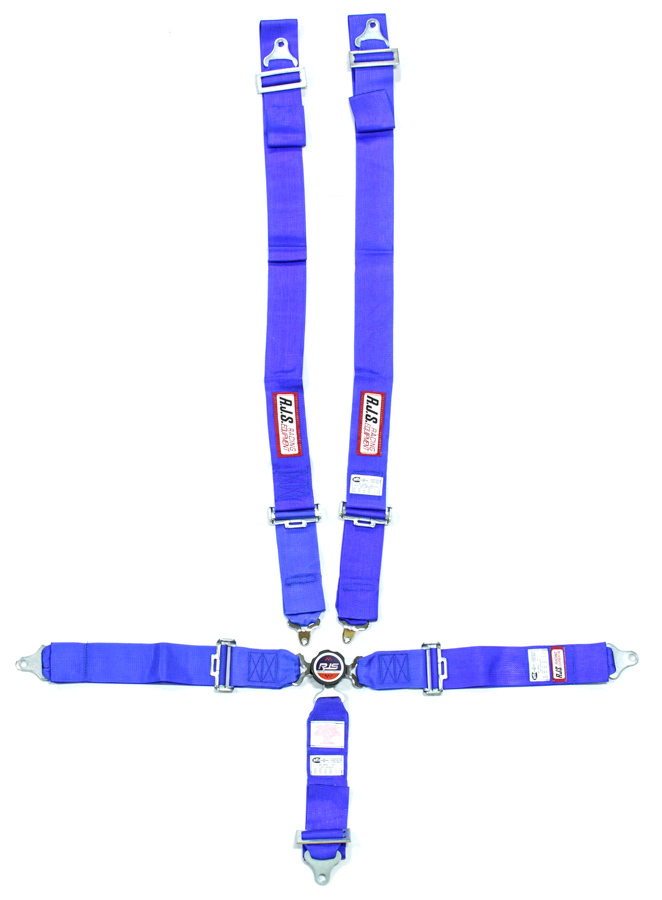 5pt Harness System Q/R Blue Ind Wrap 3in Sub