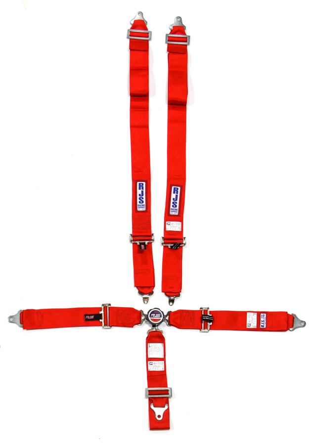 5 PT Harness System Q/R Red Ind Wrap 3in Sub