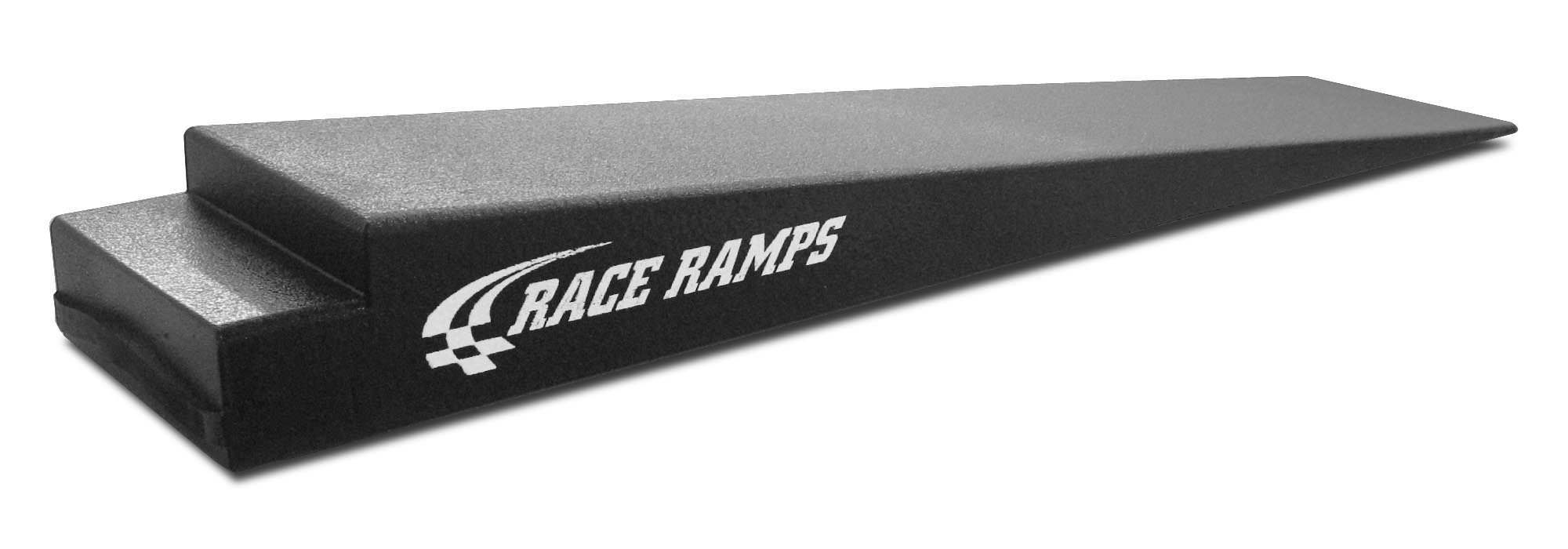 Race Ramps RR-TR-8XL Trailer Ramp, 8 in Lift Height, 74 in Long, 14 in Wide, 6.6 Degree Incline, Pair