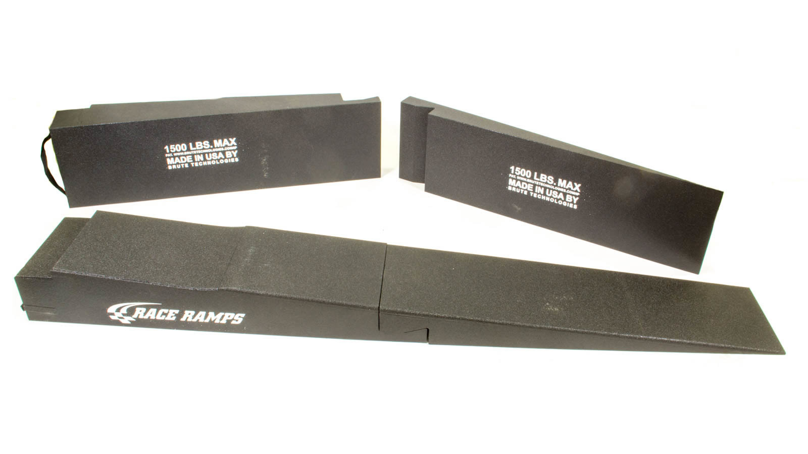 Race Ramps RR-TR-9-FLP Trailer Ramp, 8 in Lift Height, 54.75 in Long, 14 in Wide, 5 in Trailer Lip, 5.5 Degree Incline, 6000 lb Capacity, Pair