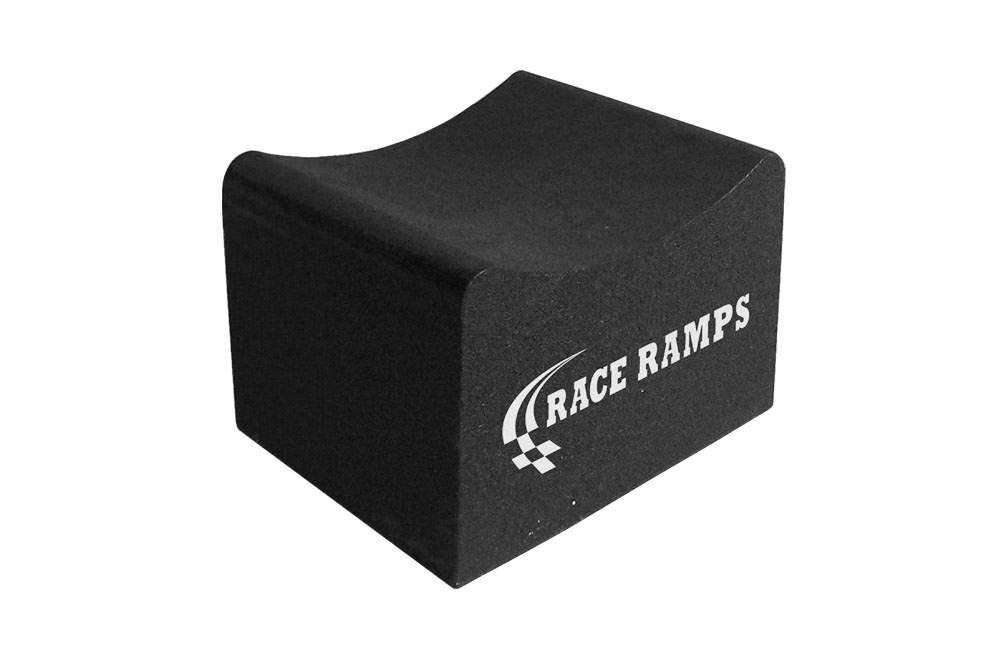 Race Ramps RR-WC-8 Wheel Crib, 8 in Tall, 15 in Long, 12 in Wide, 25-30 in Tire Diameters, 1500 lb Capacity Each, Pair