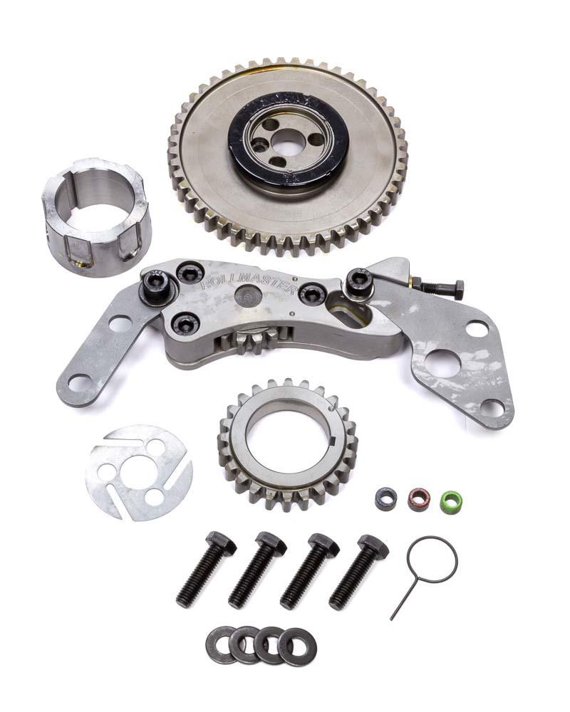 Rollmaster-Romac GD1136 Timing Gear Drive, Red Series, Billet Steel, 3-Bolt Camshaft, LS1 / LS6, GM LS-Series, Kit