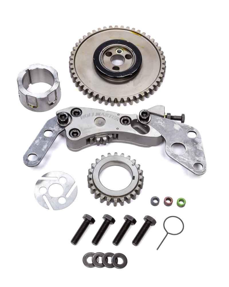Rollmaster-Romac GD1185 Timing Gear Drive, Red Series, Billet Steel, 3-Bolt Camshaft, LS2, GM LS-Series, Kit
