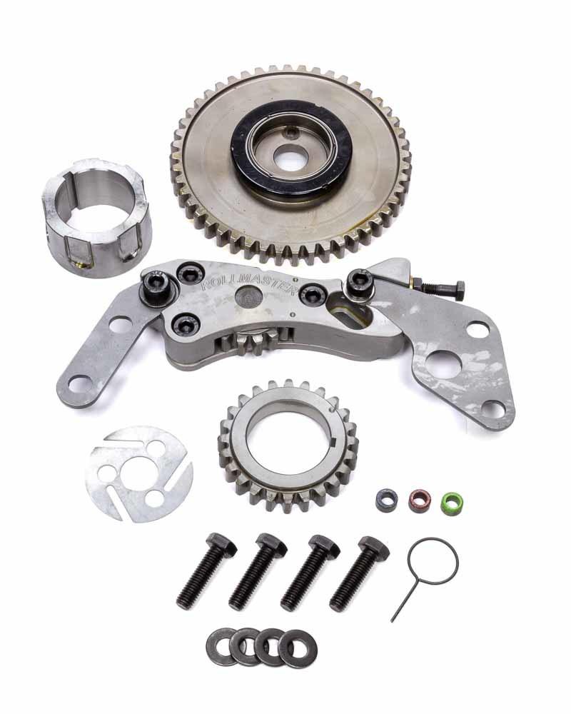 Rollmaster-Romac GD1198 Timing Gear Drive, Red Series, Billet Steel, 3-Bolt Camshaft, L98 / LS7, GM LS-Series, Kit