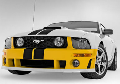 Roush Front Fascia Kit - 05-07 Mustang