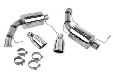 Roush Exhaust Kit Dual Axle- Back w/ Round Tips