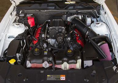 Roush Supercharger Kit Phase 2 Calibrated 625HP Black