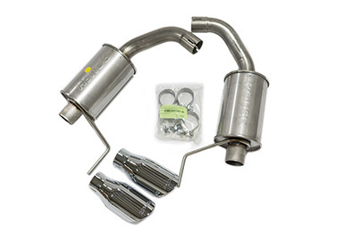 Roush Axle Back Exhaust Kit 15-16 Mustang V6/I4