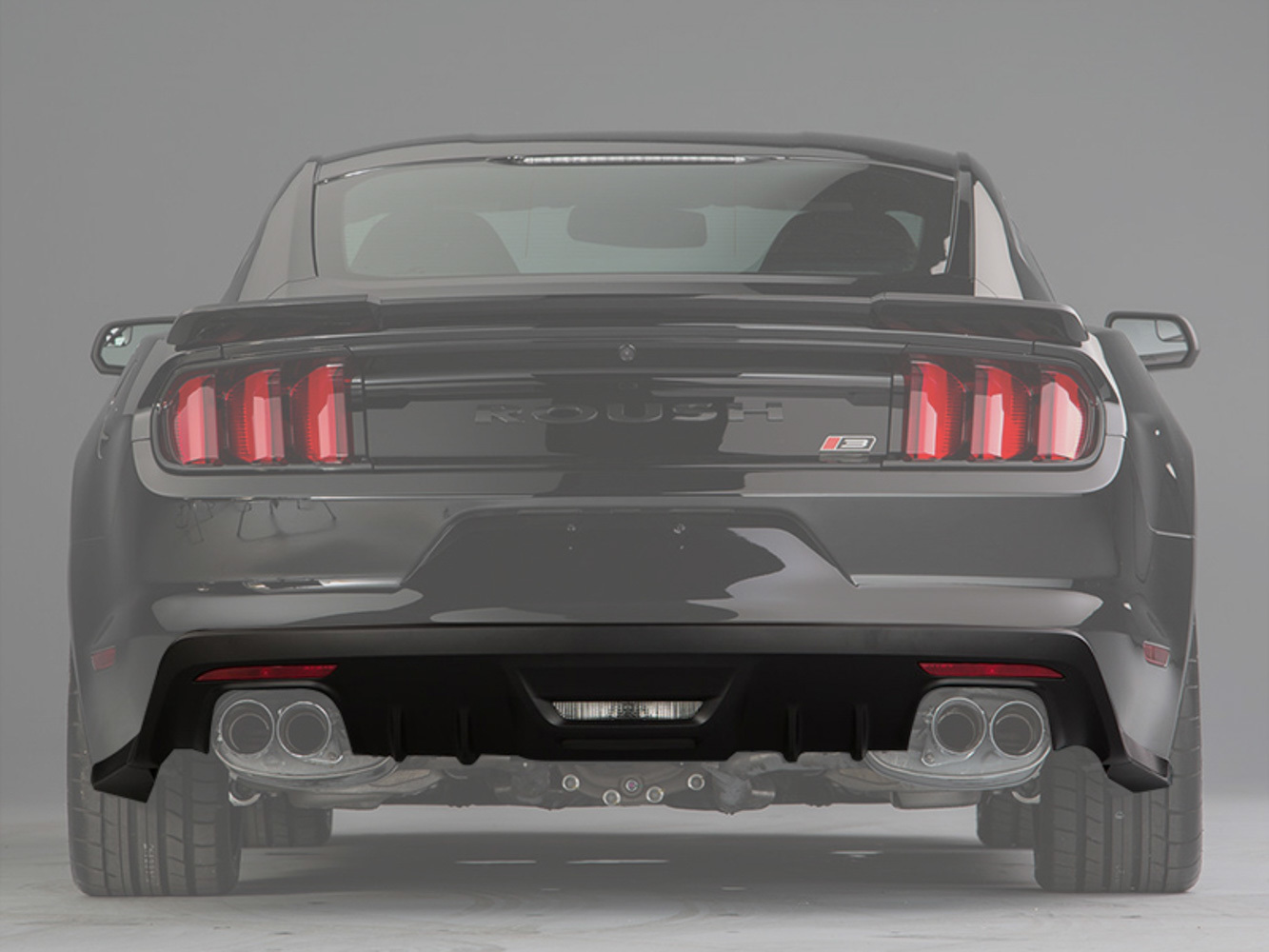 Roush Rear Fascia Valance 15- Up Mustang - Roush