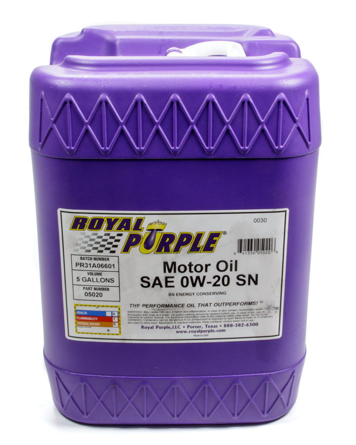 Multi-Grade Motor Oil 0w20 5 Gallon Pail
