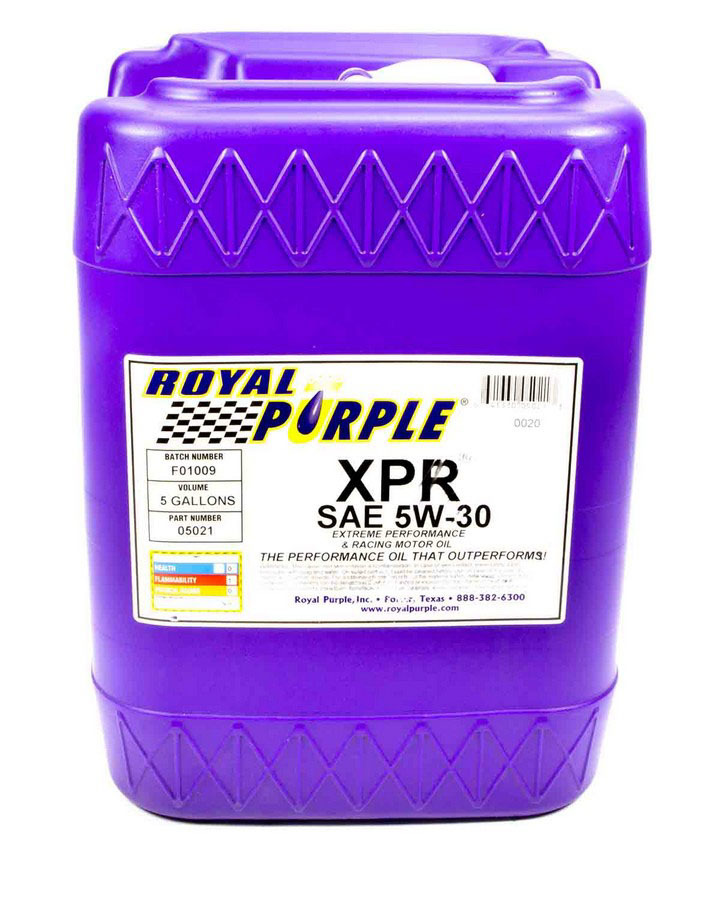 Synthetic Racing Oil XPR 5-Gallon (5W30)