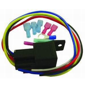 Racing Power Company R1018 Relay Switch, 20 / 30 amp, 12V, Wiring Included, Electric Fan, Kit